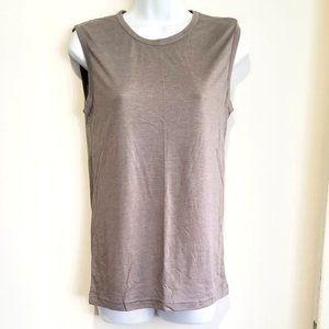 NWOT very soft beige short sleeve t-shirt